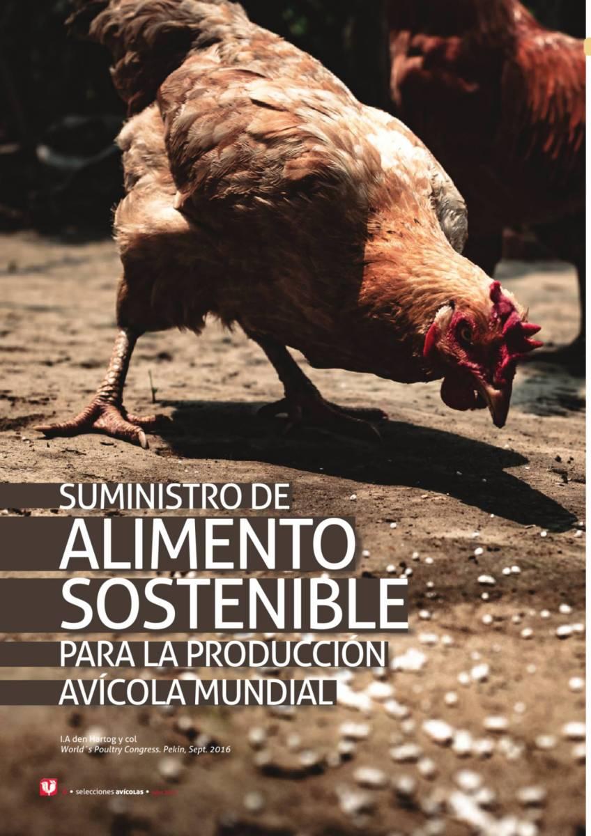 Suministro de alimento sostenible para la producción avícola mundial