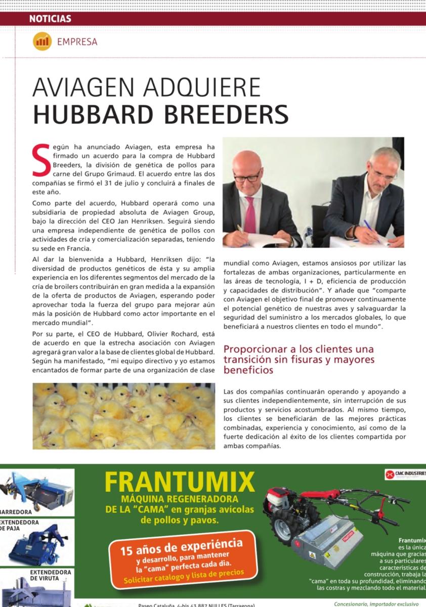 Aviagen adquiere Hubbard Breeders