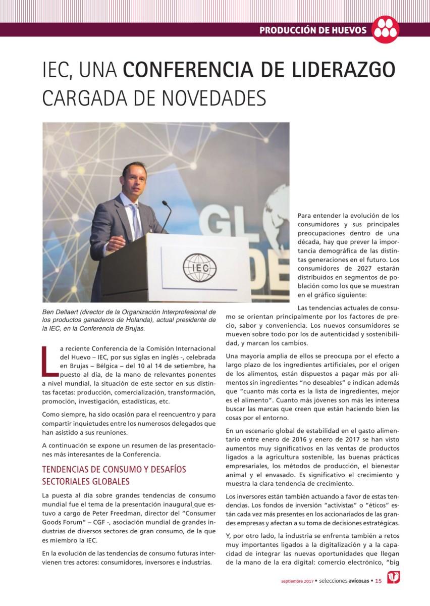 IEC, UNA CONFERENCIA DE LIDERAZGO CARGADA DE NOVEDADES