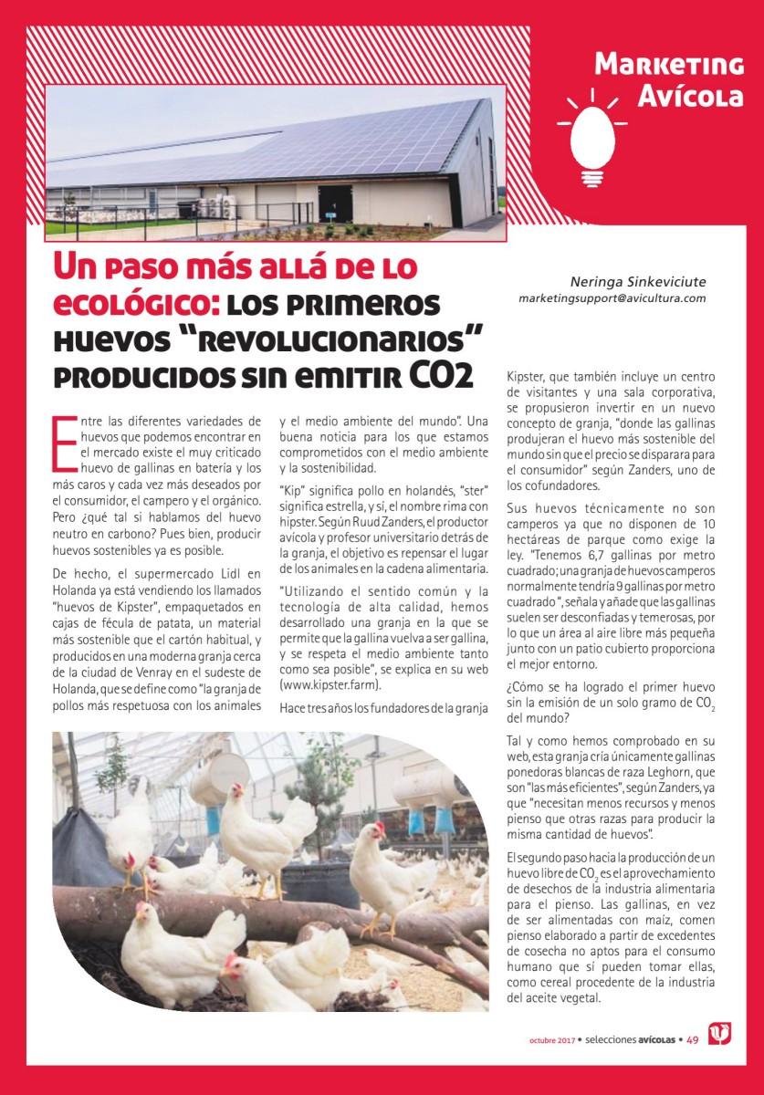 """Un paso más allá de lo ecológico: los primeros  huevos """"revolucionarios""""  producidos sin emitir CO2"""