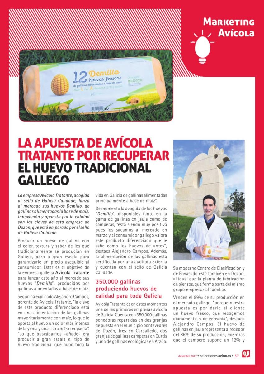 La apuesta de Avícola Tratante por recuperar el huevo tradicional gallego