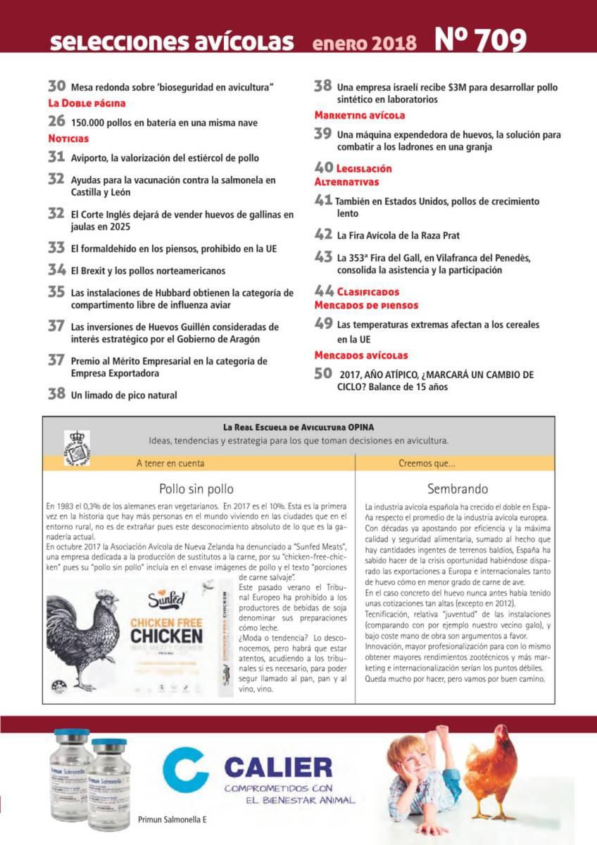 La Real Escuela de Avicultura OPINA: Pollo sin pollo