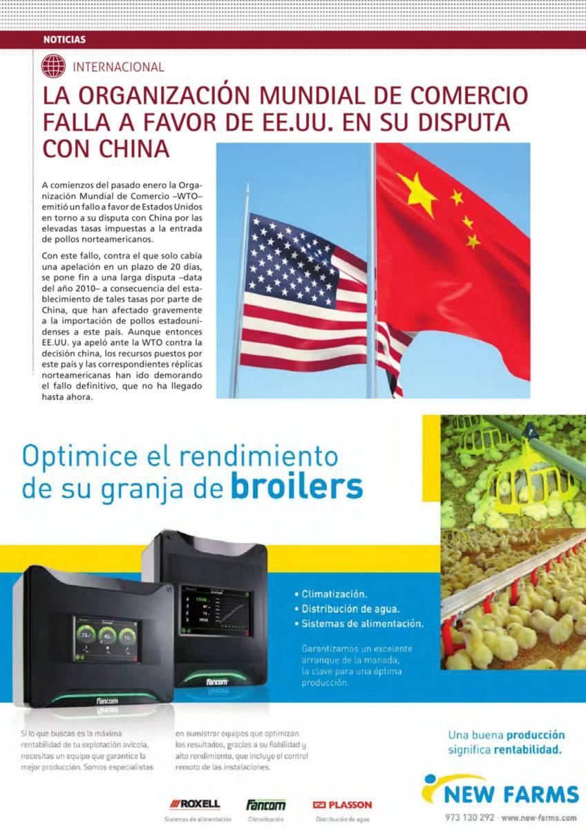 LA ORGANIZACIÓN MUNDIAL DE COMERCIO FALLA A FAVOR DE EE.UU. EN SU DISPUTA CON CHINA