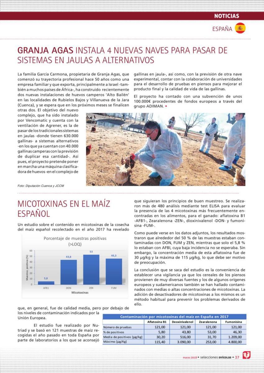 GRANJA AGAS INSTALA 4 NUEVAS NAVES PARA PASAR DE SISTEMAS EN JAULAS A ALTERNATIVOS