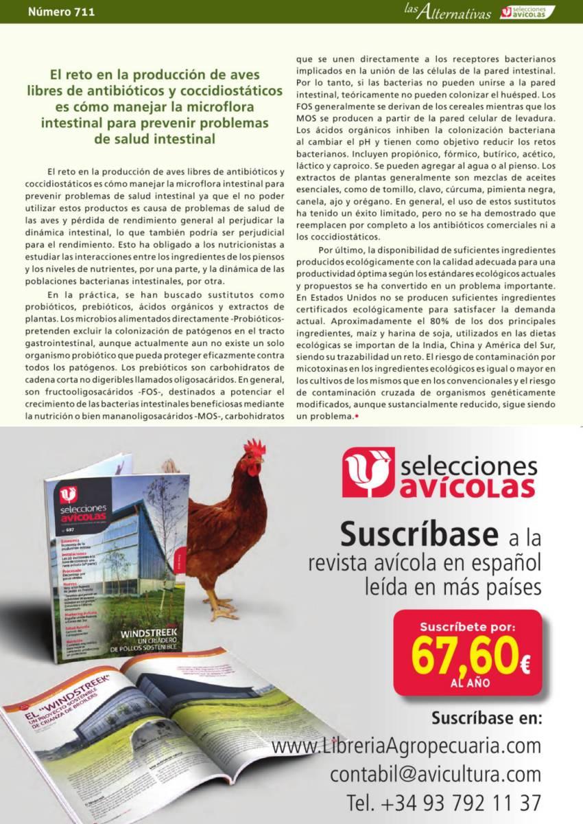 Publicidad Selecciones Avícolas Libería