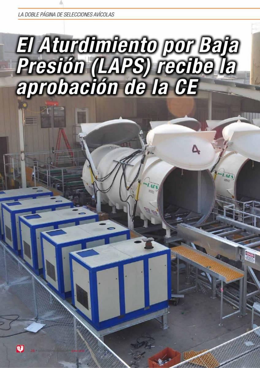 El Aturdimiento por Baja Presión (LAPS) recibe la aprobación de la CE