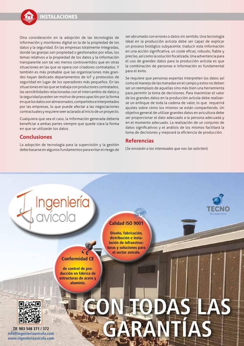 Publicidad Tecno Ingeniería Avícola