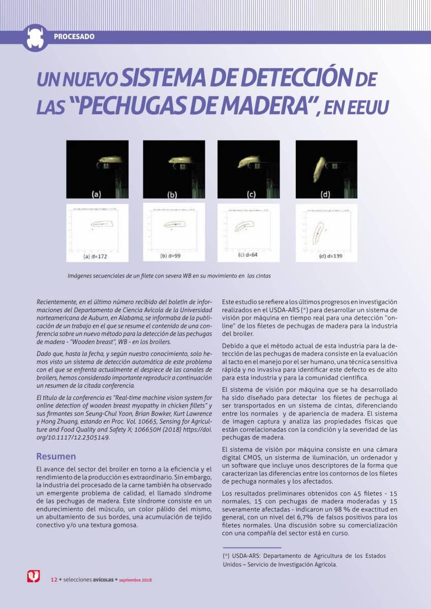 """Un nuevo sistema de detección de las """"Pechugas de Madera"""", en EEUU"""
