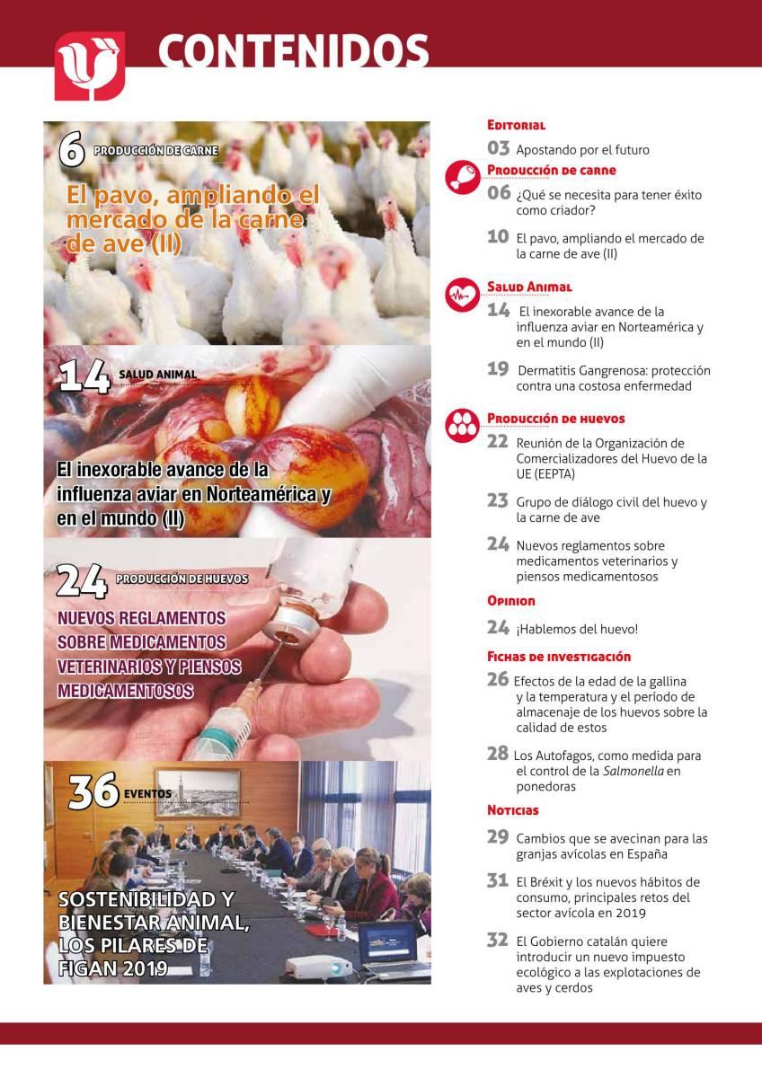 Sumario Selecciones Avícolas Enero 2019