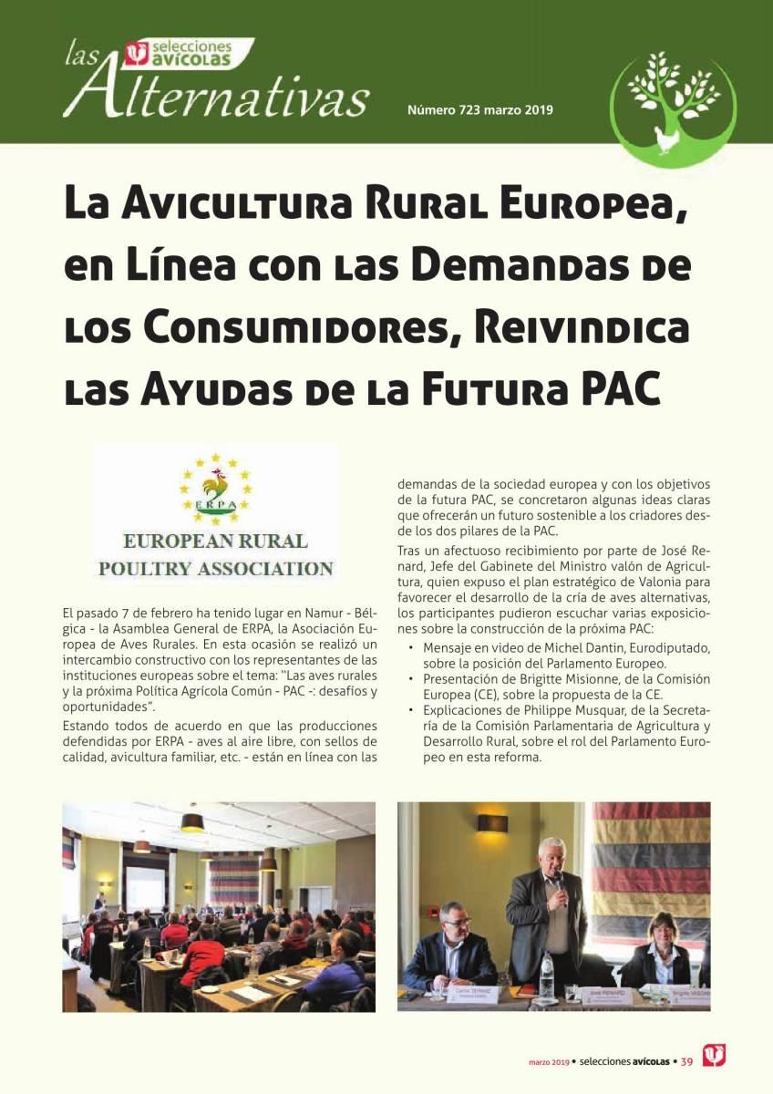 La Avicultura Rural Europea, en Línea con las Demandas de los Consumidores, Reivindica las Ayudas de la Futura PAC