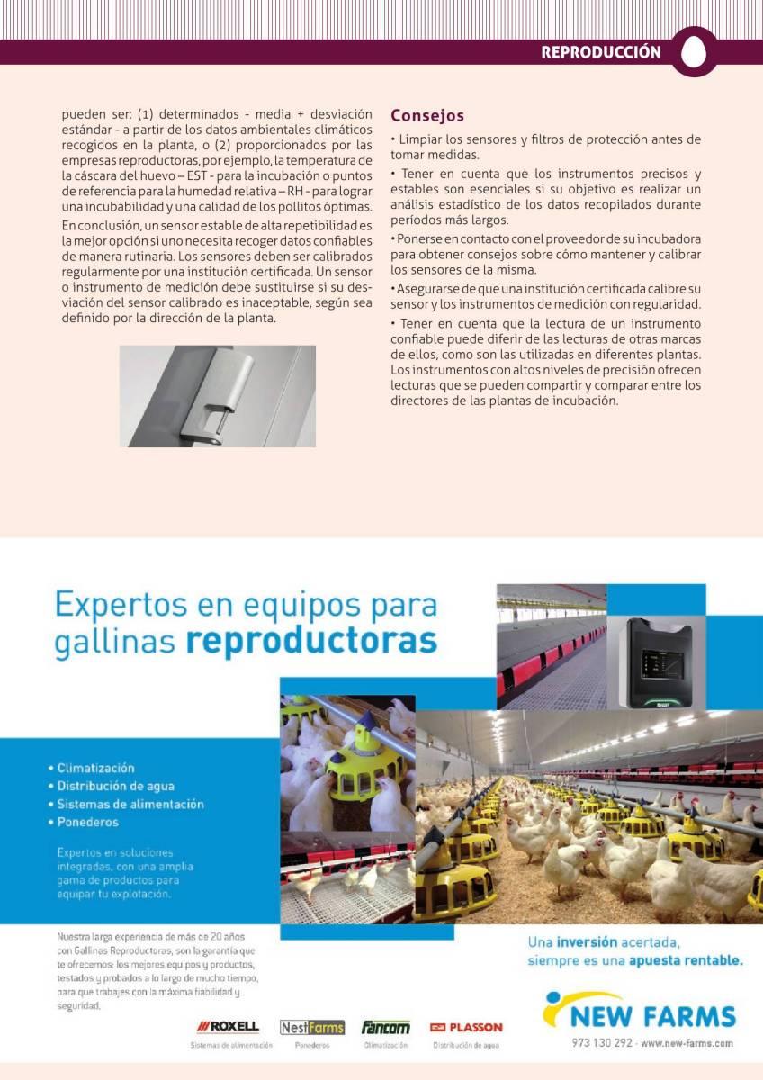 Publicidad New Farms equipos para reproductoras