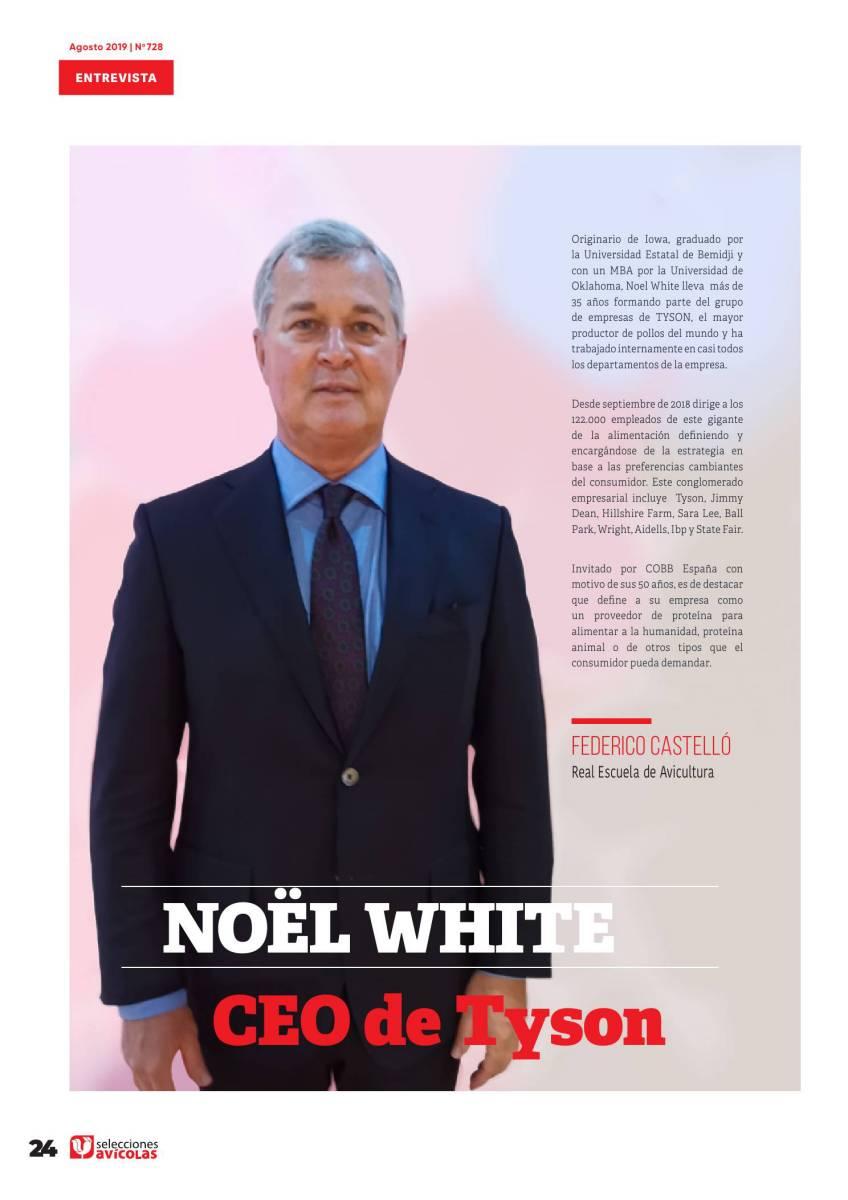 """""""El reto de la integradora es responder con soluciones a medida ante sus clientes"""" Entrevista a Noël White, CEO de TYSON"""