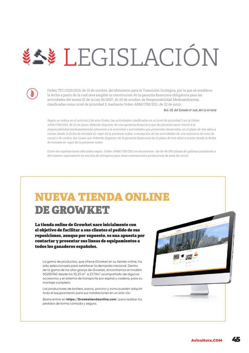 Legislación noviembre 2019