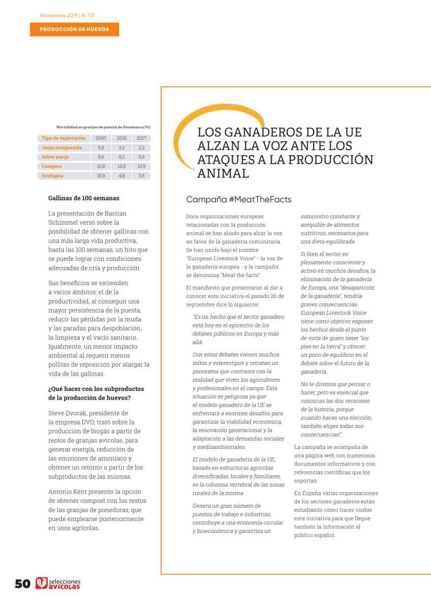 Los ganaderos de la UE alzan la voz ante los ataques a la producción animal