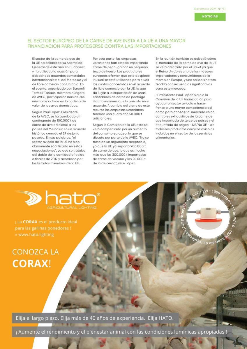 El sector europeo de la carne de ave insta a la UE a una mayor financiación para protegerse contra las importaciones