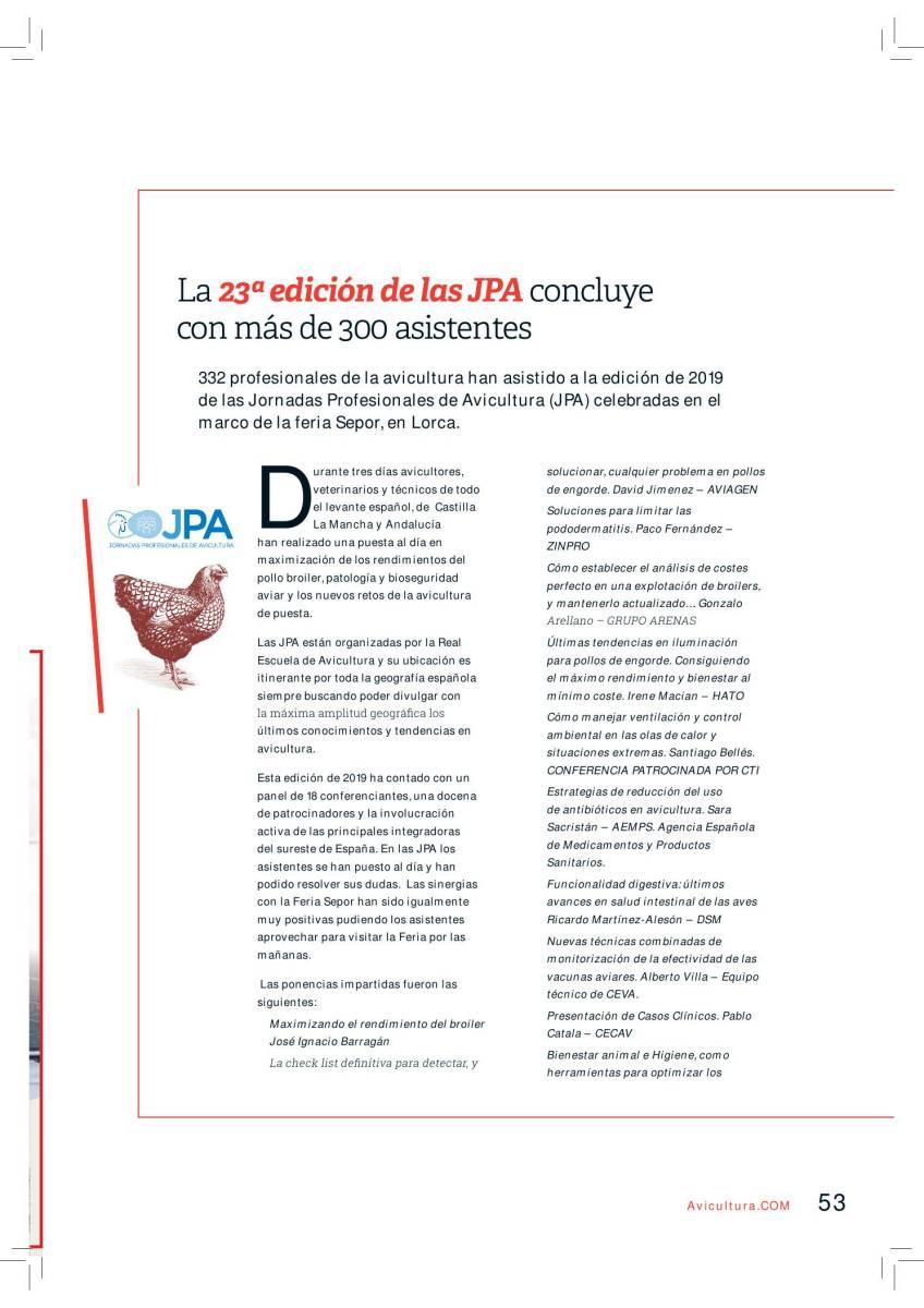 La 23a edición de las JPA concluye con más de 300 asistentes