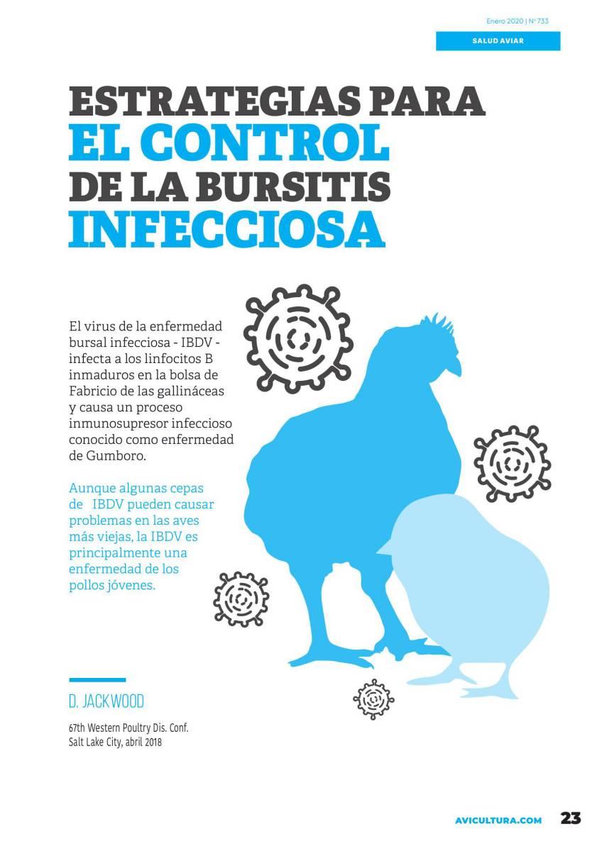 Estrategias para el control de la Bursitis Infecciosa