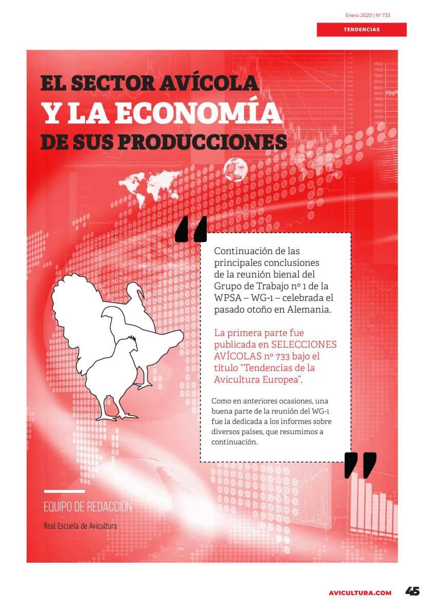 TENDENCIAS - El sector avícola y la economía de sus producciones