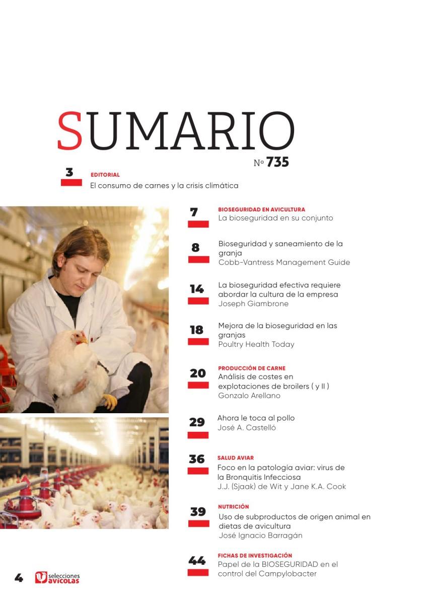 Sumario SELECCIONES AVICOLAS N#735