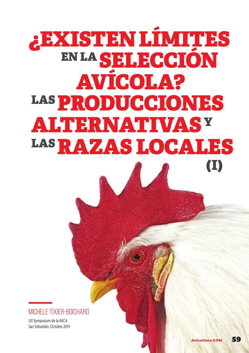 ¿Existen límites en la selección avícola? Las producciones alternativas y las razas locales (1a parte)