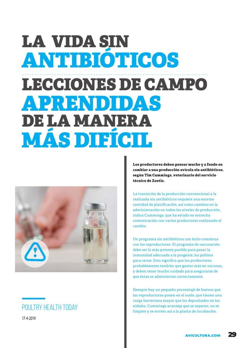 La vida sin antibióticos: Lecciones de campo aprendidas de la manera más difícil