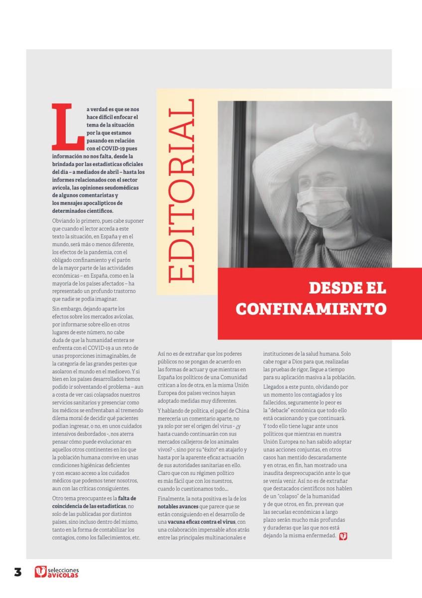 Editorial: Desde el confinamiento