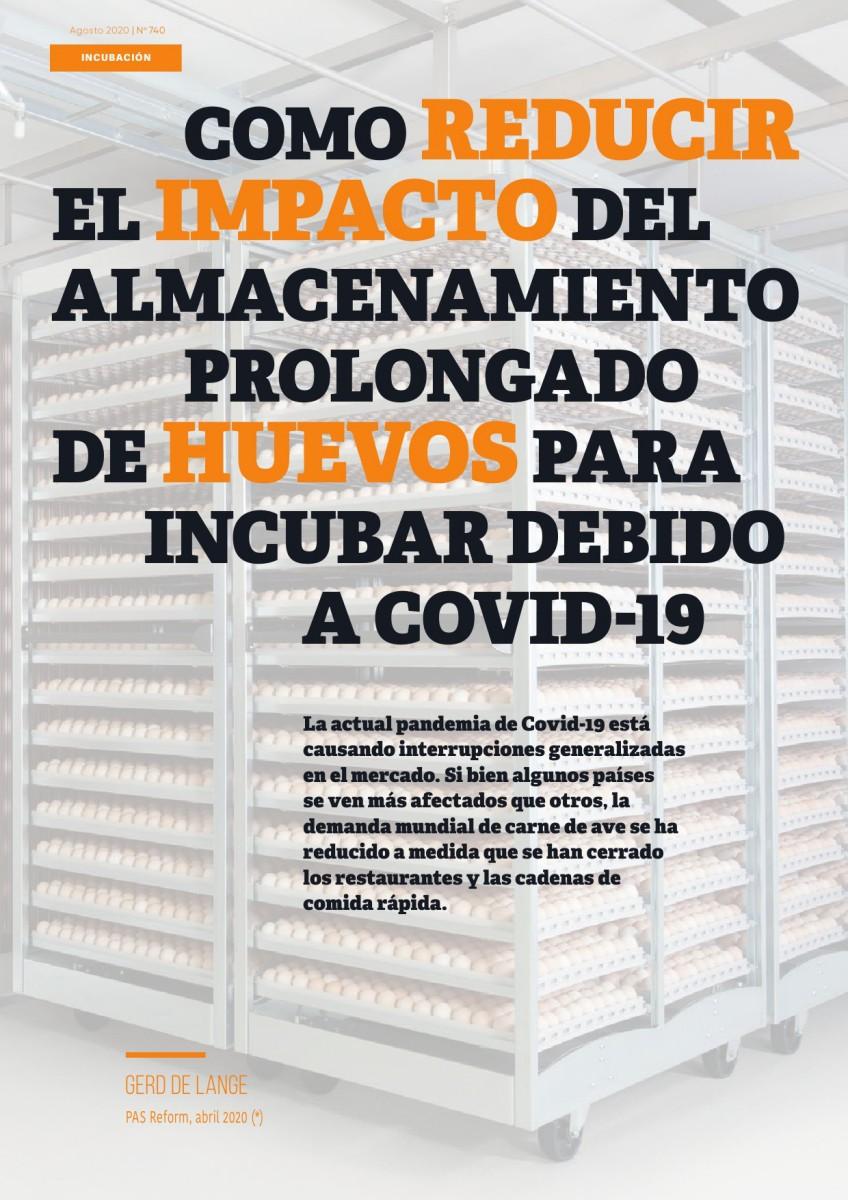 Como reducir el impacto del almacenamiento prolongado de huevos para incubar debido a Covid-19