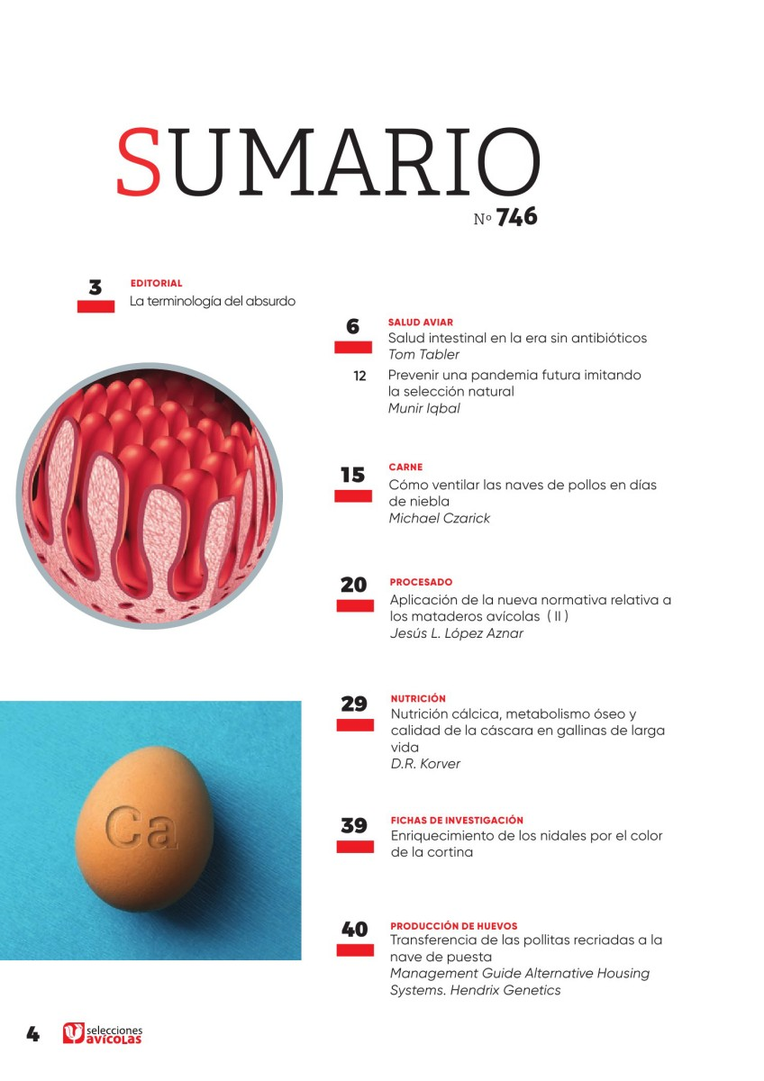 Sumario SELECCIONES AVICOLAS N#746
