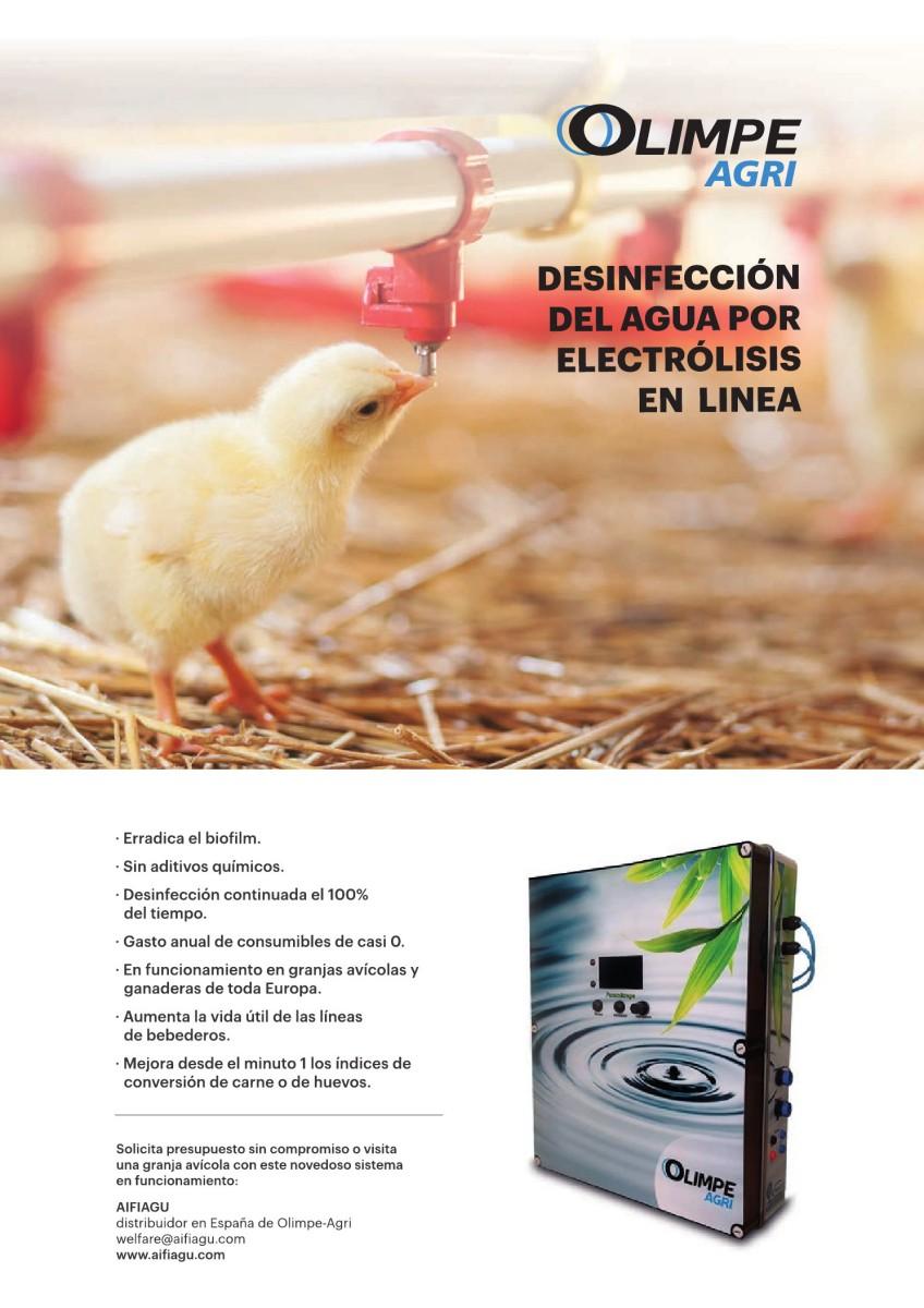 Ad Olimpe-Agri desinfección del agua por electrólisis en linea