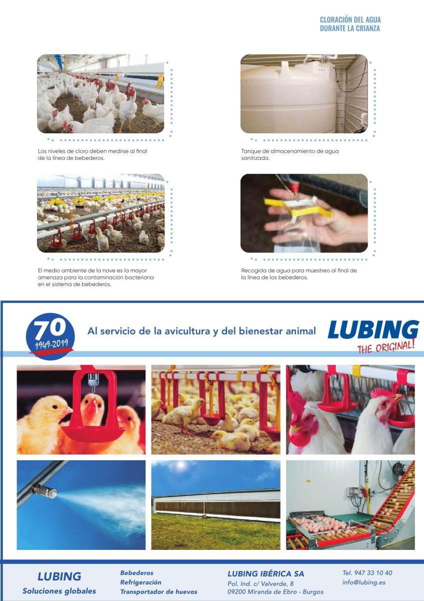 Ad Lubing, los bebederos para avicultura