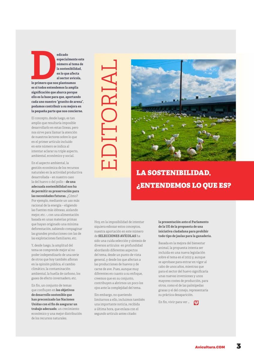 Editorial: La sostenibilidad, ¿entendemos lo que es?