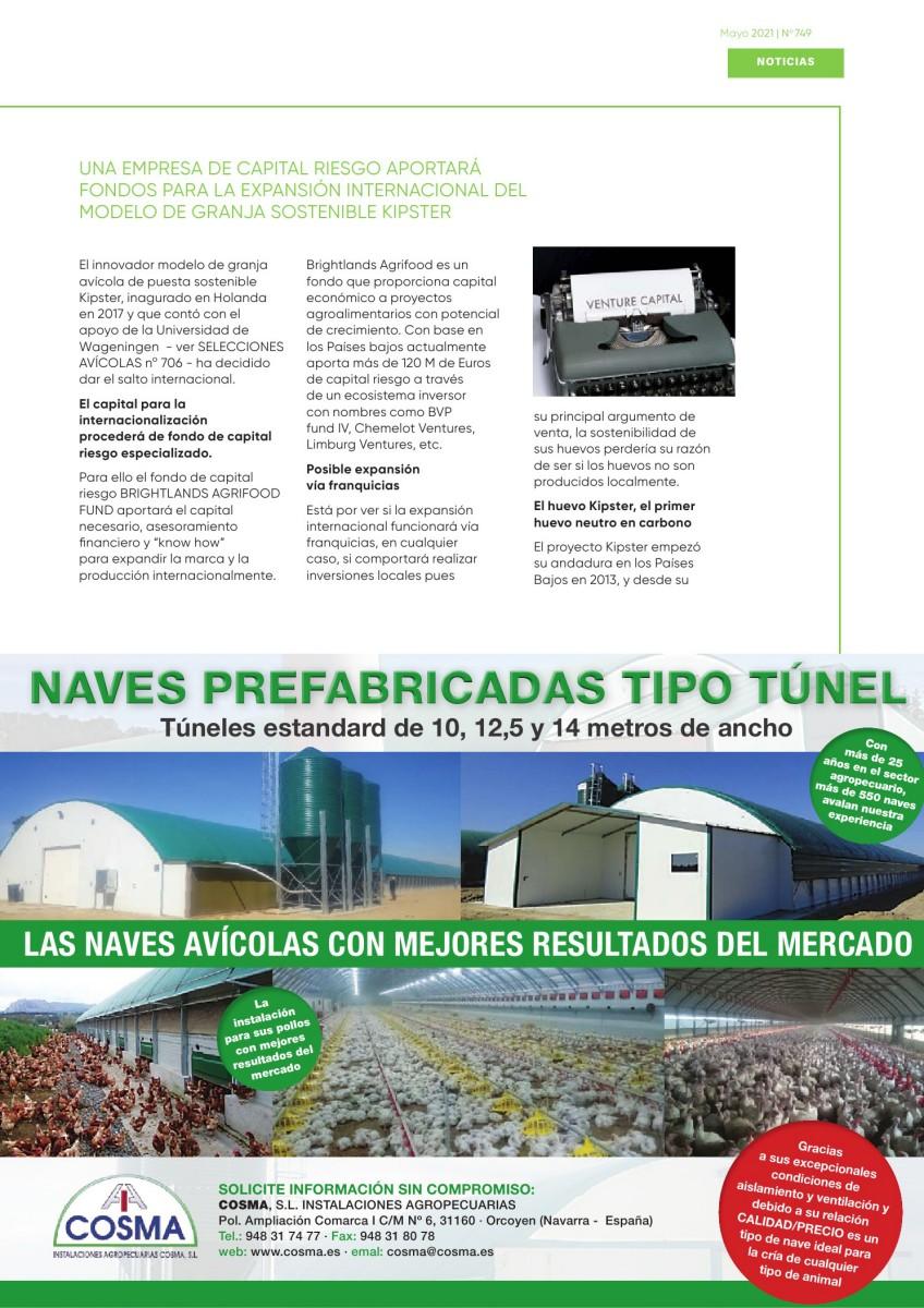 Una empresa de capital riesgo aportará fondos para la expansión internacional del modelo de granja sostenible Kipster