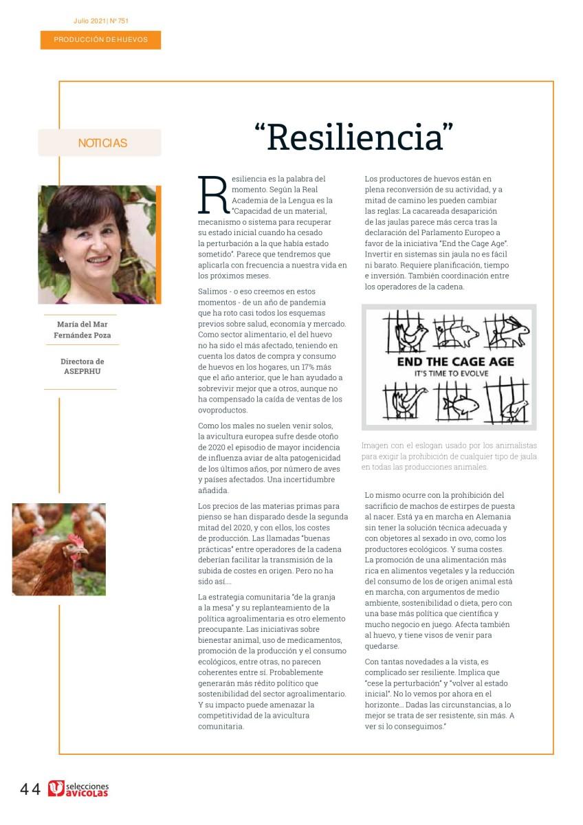 """""""Resiliencia"""""""