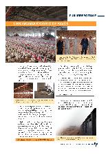 Una granja modelo de pavos