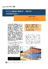 El gallinero produce también energía solar