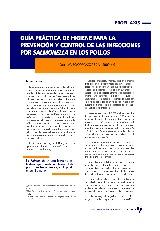 Guía práctica de higiene para la prevención y control de las infecciones por Salmonella en los pollos
