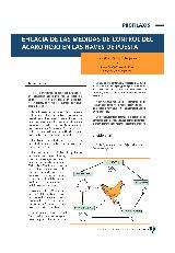Eficacia de las medidas de control del ácaro rojo en las naves de puesta no