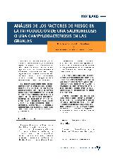 Análisis de los factores de riesgo en la introducción de una salmonelosis o una campylobacteriosis en las granjas