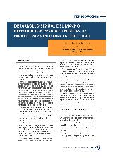 Desarrollo sexual del macho reproductor pesado. Técnicas de manejo para mejorar la fertilidad