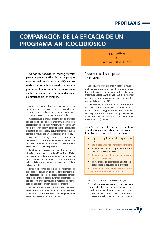 Comparación de la eficacia de un programa anticoccidiósico