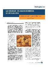 La sanidad del agua de bebida en avicultura