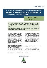 El uso de probióticos para combatir la enteritis producida por especies de clostridia en avicultura