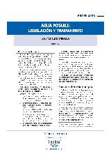 Agua potable: legislación y tratamiento