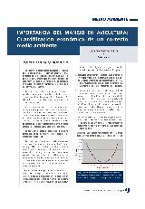 Importancia del manejo en avicultura: cuantificación econónica e un correcto medio ambiente