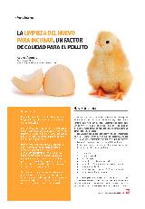 La limpieza del huevo para incubar, un factor de calidad para el pollito