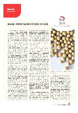 Brasil: exportación récord de soja