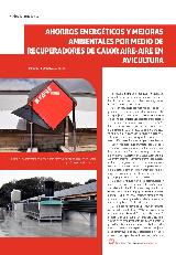 Ahorros energéticos y mejoras ambientales por medio de recuperadores de calor aire-aire en avicultura