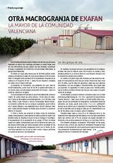 Otra macrogranja de EXAFAN la mayor de la Comunidad Valenciana
