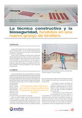 La técnica constructiva y la bioseguridad, fundidas en una nueva granja de broilers