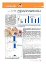 Evaluación de compuestos organosulfurados de aliáceas en la mejora sanitaria y productiva de las gallinas